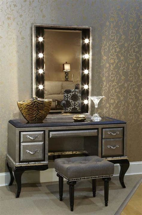 makeup vanity table  lighted mirror youll love