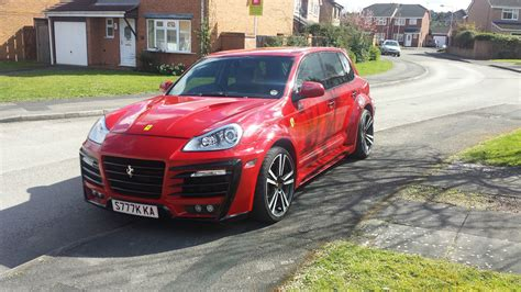 Ferrari Suv Impersonated By Porsche Cayenne