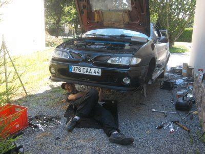 changement embrayage mes voitures tuning