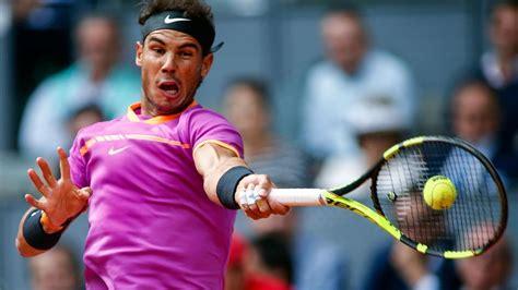 Tenis y Rafael Nadal hoy, Partido a Partido