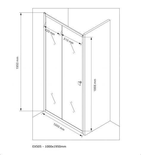 largeur porte chambre paroi porte de en niche nano verre véritable