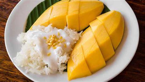 sticky rice  mango recipe  veena arora  imperial