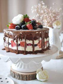 caketime  tamaris beeren schoko torte kuchen und