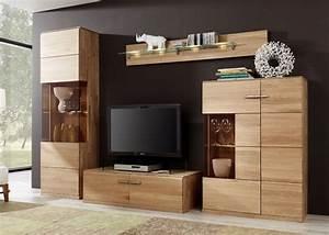 Wohnwand Holz Massiv : wohnwand eiche bianco oregon wohnzimmerschrank holz massiv 8786 ebay ~ Yasmunasinghe.com Haus und Dekorationen