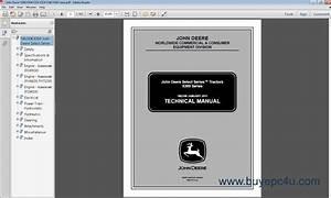 John Deere X300 X304 X320 X324 X340 X360 Lawn Tm2308