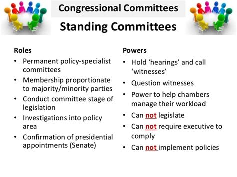 government congress lesson  committees  leadership