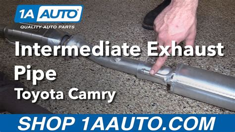 How Replace Install Intermediate Exhaust Pipe