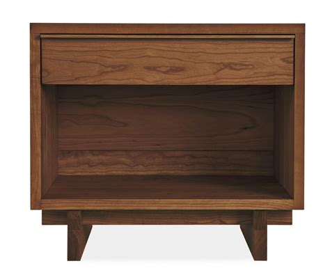 10 Wide Nightstand by Nightstand 1 Drawer Wide