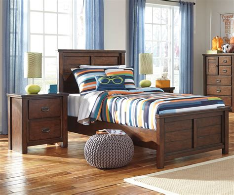 ladiville  panel bed twin size ashley furniture