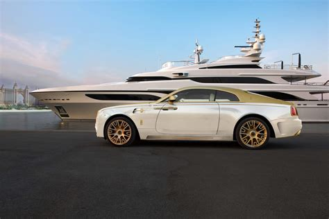 plated rolls royce mansory 39 s gold plated rolls royce wraith palm edition 999