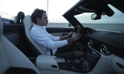 video mercedes benz sls amg roadster driven  roger