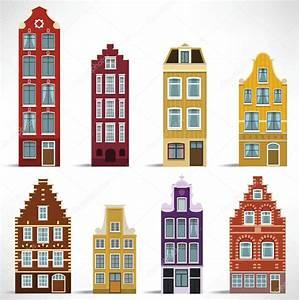 Häuser In Holland : 8 h user in holland stockvektor 39232889 ~ Watch28wear.com Haus und Dekorationen
