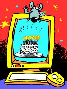 computer birthday  cake happy icon icons emoticon