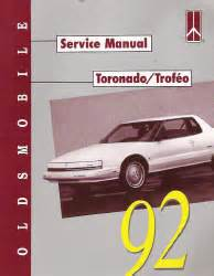 car repair manuals online free 1992 oldsmobile 88 head up display 1992 oldsmobile toronado factory service manual