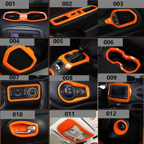 jeep renegade interior orange newest car styling car accessories interior accessories