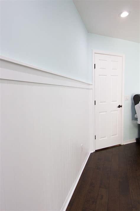 Beadboard Wall & Shelf Ledge  Jenna Sue Design Blog