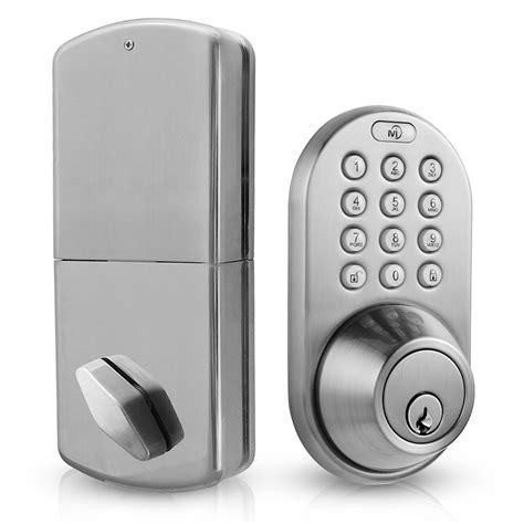 keyless entry door locks milocks keyless entry deadbolt door lock tanga