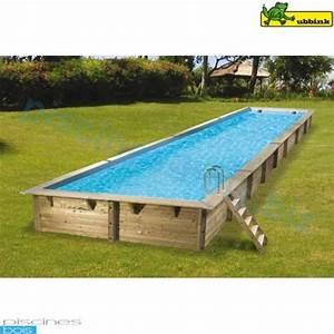 Piscine Bois Ubbink : piscine bois rectangulaire lin a 350 x 1550 cm ~ Mglfilm.com Idées de Décoration