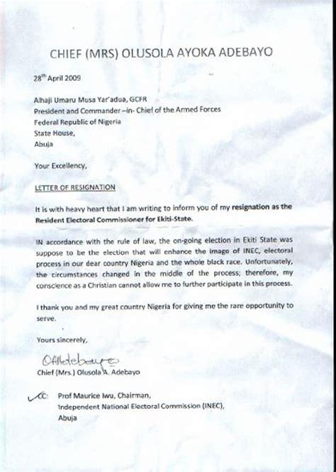 resignation letter  salescvinfo