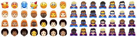 157 New Emoji Are Coming In 2018, Including Redheads And