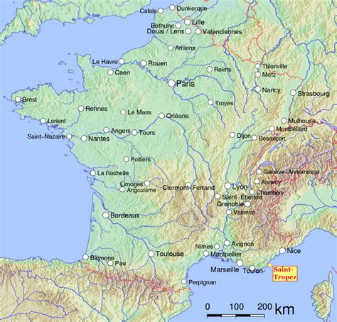 Situer Aygulf Carte by Tropez An Piemont 232 Is L Encicloped 236 A
