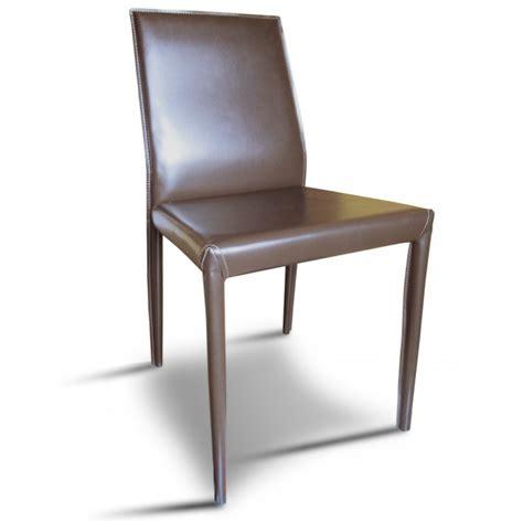chaises cuir chaise cuir assise et dossier garnis habillage et
