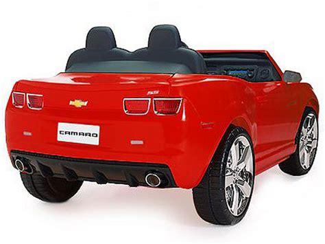 extreme camaro ride   power wheels toy electric car