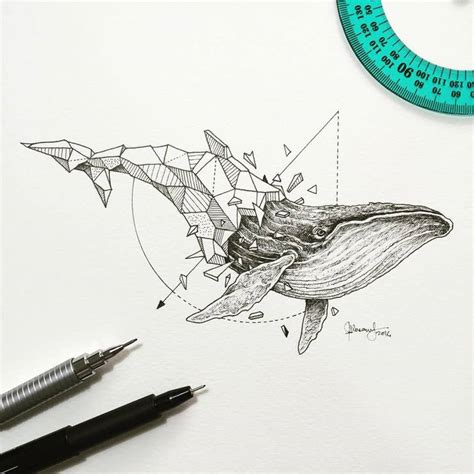 abstract geometric animal illustrations  kerby rosanes