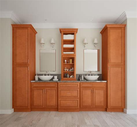 regency spiced glaze pre assembled bathroom vanities