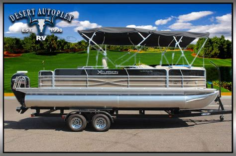 Performance Pontoon Boats For Sale by Forest River Marine 2 75 Performance Package Saltwater