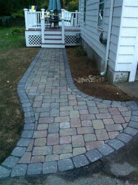 unilock permeable pavers unilock driveway with thornbury permeable paver front porch in