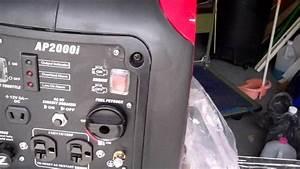 Smarter Tools Inverter Generator 2000 Watts Ap2000i With