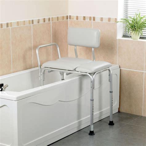 chaise pour baignoire personne agée wide bath seat transfer bench