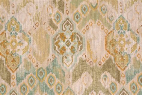 Linen Cotton Upholstery Fabric by Richloom Prescott Printed Cotton Linen Drapery Fabric In