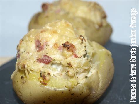 pomme de terre au jambon et fromage