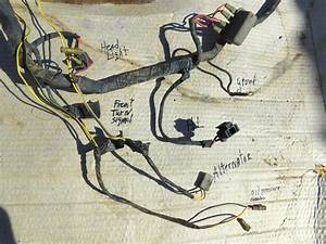 1974 Datsun 620 Complete Wiring Harness Engine  Dash  To