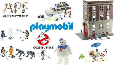 Alle Playmobil Ghostbusters Spielsets 2017