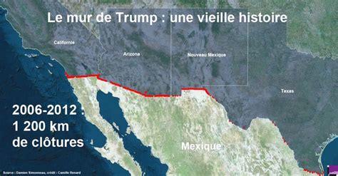 La frontière américano-mexicaine : le nouveau mur de la ...