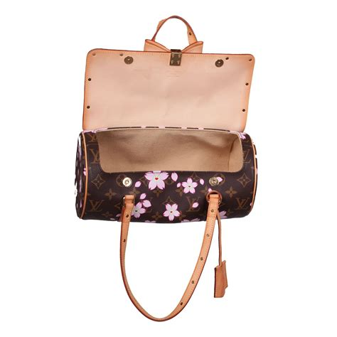 louis vuitton cherry blossom butterfly bag  chic selection