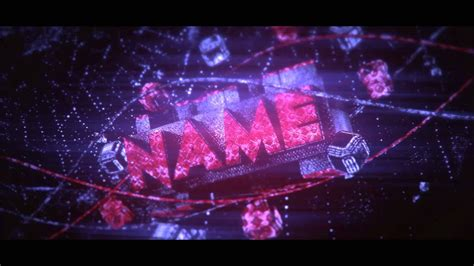 intro template background youtube