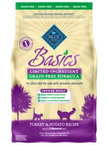 blue buffalo cat food blue basics 174 cat food grain free indoor turkey