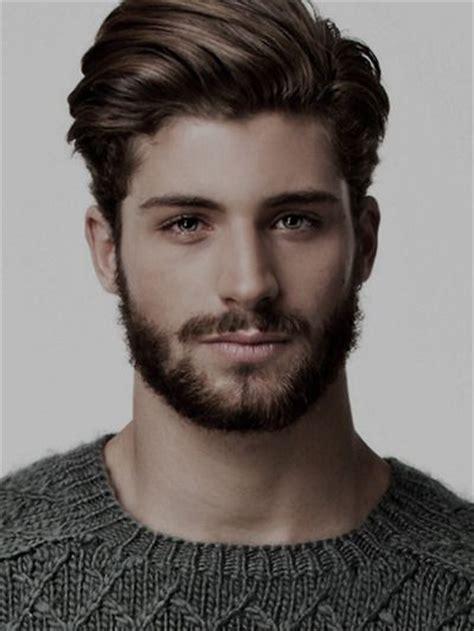 medium length hairstyles  men part