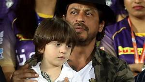 Shah Rukh Khan, AbRam sport same tattoos, watch Kolkata ...