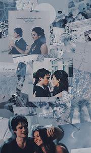 Lockscreen Damon e Elena - Delena   Delena, Damon de ...