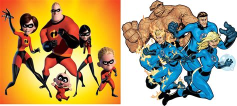 The Incredibles Vs. The Fantastic Four