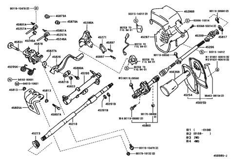 Steering Column Shaft For Toyota Hilux