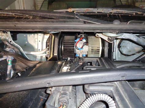bmw  blower motor ac  blowing replacement