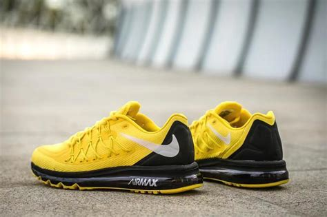 Nike Air Max 2020 Yellow White Black Mens Running Shoes