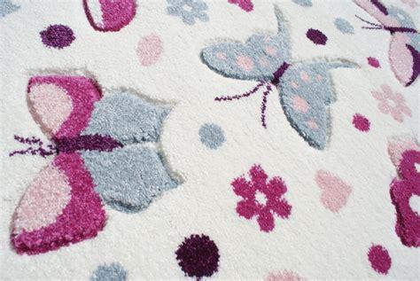 kinderzimmer teppich rosa teppich kinderzimmer 120x180 rosa quot schmetterlinge