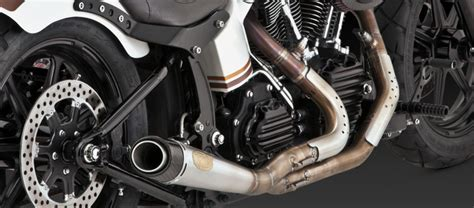 roland sands design rsd slant tracker carbon ops exhaust kits for softai